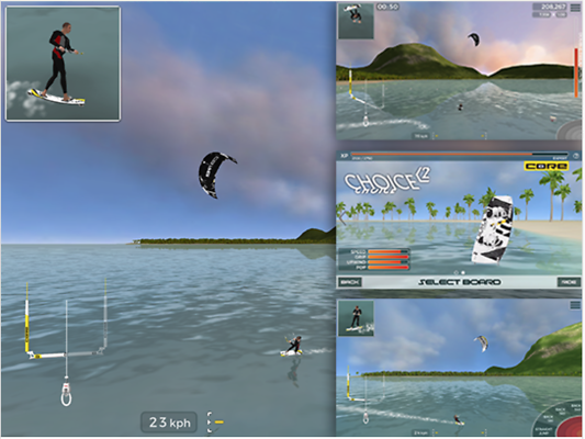 Kitesurf – Handygame